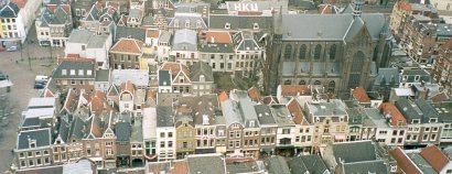 View of Utrecht from the Dom Tower